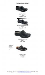 Birkenstock Shoes flyer